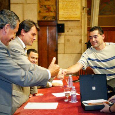 Premi al millor jove artesà alimentari innovador 2003 Jordi Vivet