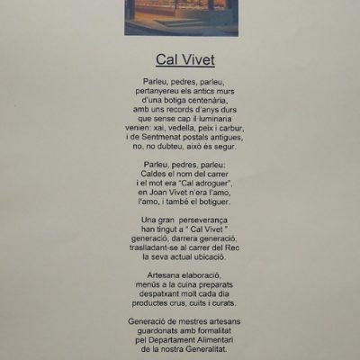 Poema de Jaume Baigual en motiu del 150 aniversari