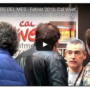 CAL VIVET Productors del mes, febrer 2016 FIRA APAT