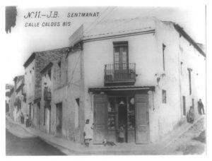 Fachada 1ª Botiga any 1900 aprox.