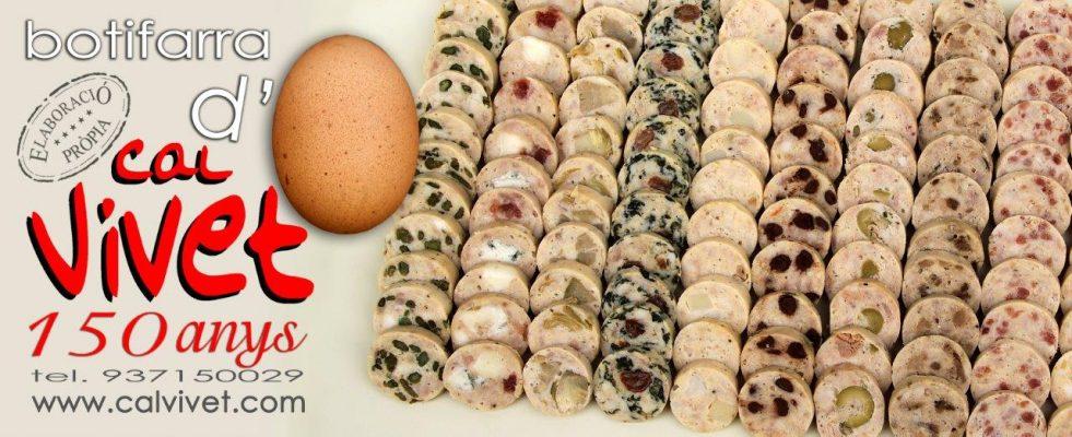 Ja estem al mes de febrer i ja s'acosta dijous llarder, tenim ja tots els models de botifarres d'ou perquè en puguis gaudir !!! Bonissimes totes... foto de Cal Vivet Sentmenat.